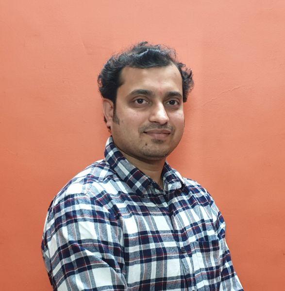 Photograph of Nitin Patil