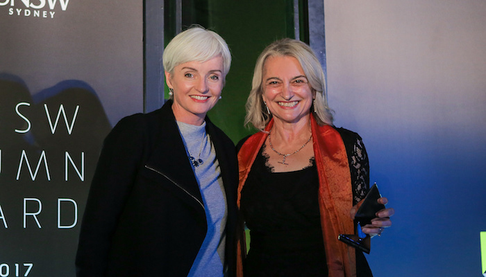 Frances and host